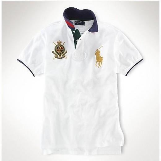 Camisa Polo Branca Big Pony Ralph Lauren - Cod 0063 23332a6baf521